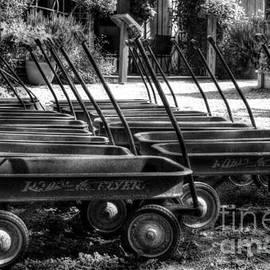 Mel Steinhauer - Rusty Old Wagons BW