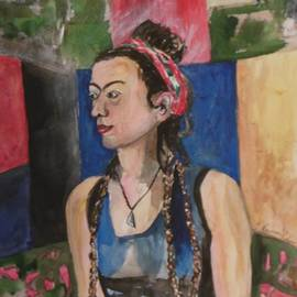 Esther Newman-Cohen - Ruthie with Braids