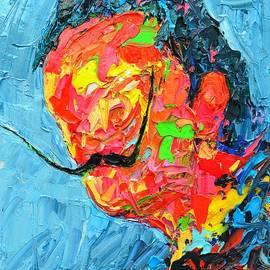 Ana Maria Edulescu - S D 2530 - Dali Abstract Expressionist Portrait