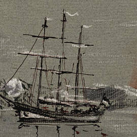 Juan  Bosco - Sail ship at the arctic