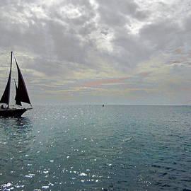 Nancy Griswold - Sailboat at Sea