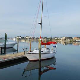 Bob Sample - Sailboat Reflection