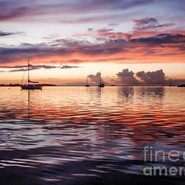 Mary Giordano - Sailboat Sunset