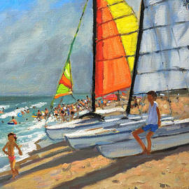 Andrew Macara - Sailboats Garrucha Spain