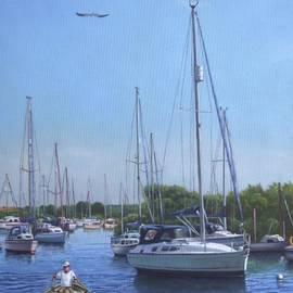 Martin Davey - Sailing Boats At Christchurch Harbour