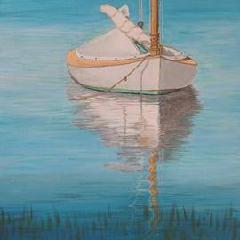 Connie Campbell Rosenthal - Sailing Dinghy