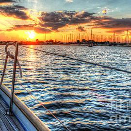 Linda Arnado - Sailing into the Sunset