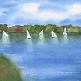 Frank Bright - Sailing Lake Mayer