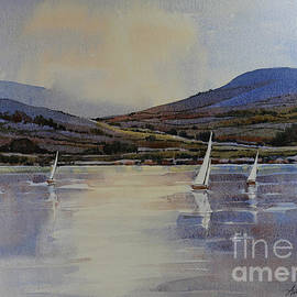 Anthony Forster - Sailing on Coniston Water