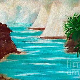 Sherri  Of Palm Springs - Sailing The Coast Of California