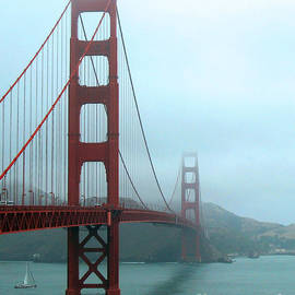 Connie Fox - Sailing Under the Golden Gate Bridge