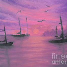 Holly Martinson - Sails at Dusk
