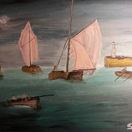 Irving Starr - Sails In The Moonlight