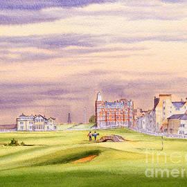 Bill Holkham - Saint Andrews Golf Course Scotland - 17Th Green