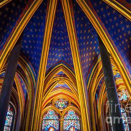 Inge Johnsson - Saint Chapelle Ceiling