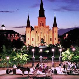 Allen Beatty - Saint Louis Cathedral New Orleans
