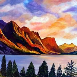 Julie Brugh Riffey - Saint Mary Lake Glacier National Park