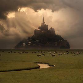 Jaroslaw Blaminsky - Saint Michel in the evening sun