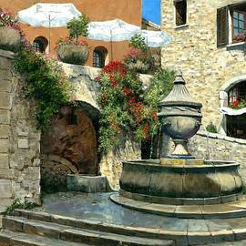 Michael Swanson - Saint Paul de Vence Fountain