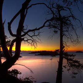 Randy Hall - Salish Sunrise