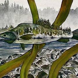 Carolyn Doe - Salmon Landscape