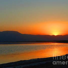 Tina M Wenger - Salton Sea Sunset Eight