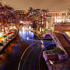 Silvio Ligutti - San Antonio Riverwalk and Christmas Lights - San Antonio Texas