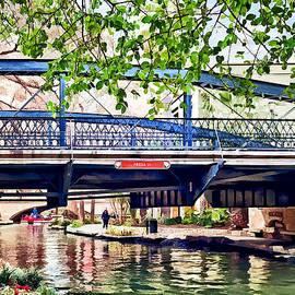 Susan Savad - San Antonio TX - Bridge on Paseo Del Rio