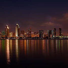 Peter Tellone - San Diego Night Skyline