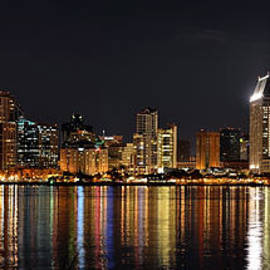 Art K - San Diego Skyline Panorama