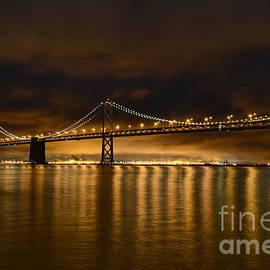 Carlos Alkmin - San Francisco - Bay Bridge at Night