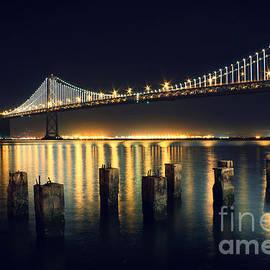 Jennifer Ramirez - San Francisco Bay Bridge Illuminated