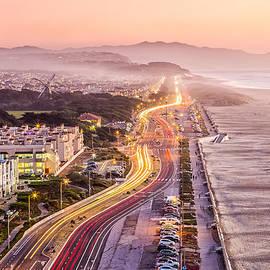 Dave Gordon - San Francisco Ocean Beach Drive