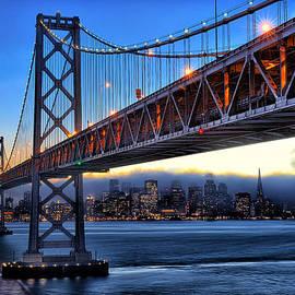 Peter Dang - San Francisco Skyline under the Bay Bridge