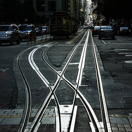 Georgia Mizuleva - San Francisco Silver Cable Car Tracks