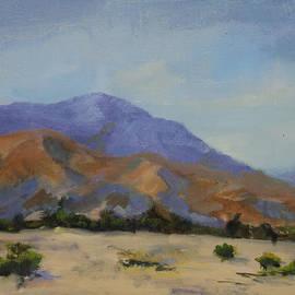 Maria Hunt - Mt. San Jacinto In Morning Light