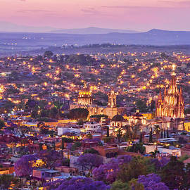 Lindley Johnson - San Miguel de Allende Mountain Sunset
