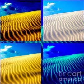 Susanne Van Hulst - Sand Dunes Collage