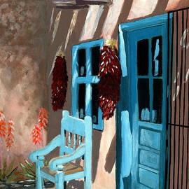 Karyn Robinson - Santa Fe Courtyard