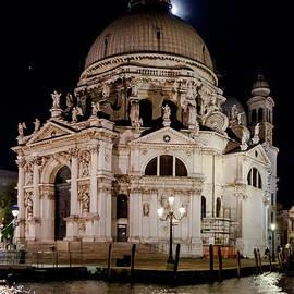 Paul Cowan - Santa Maria della Salute at night