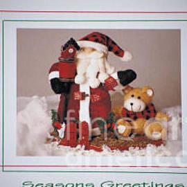 Sharon Elliott - Santa - Seasons Greetings