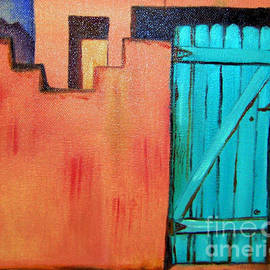 Janice Rae Pariza - Sante Fe Door in Oil
