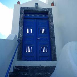 Colette V Hera  Guggenheim  - Santorini Door  to Heaven