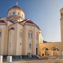 Antony McAulay - Santorini Exo Gonia Church Panorama