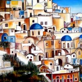 Carmen Junyent - Santorini - Grecia
