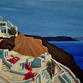Dimitra Papageorgiou - Santorini Greece 2