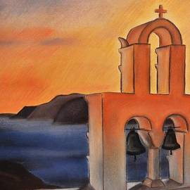Dimitra Papageorgiou - Santorini Greece Sunset