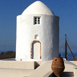 Colette V Hera  Guggenheim  - Santorini Island View Greece