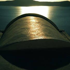 Colette V Hera  Guggenheim  - Santorini Lines By Night