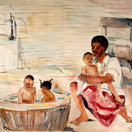 Harold Ellison - Bath Time with Sister